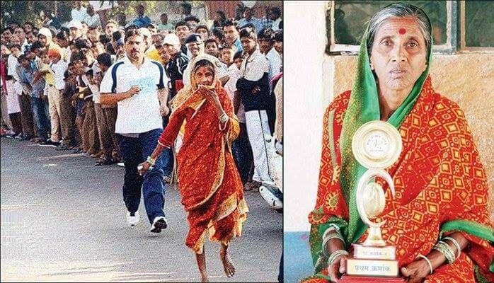 67ാം വയസ്സില് ലതാഭഗവാന് മാരത്തണ് ഓട്ടത്തിന്; പണം ഭര്ത്താവിന്റെ ചികിത്സയ്ക്ക്