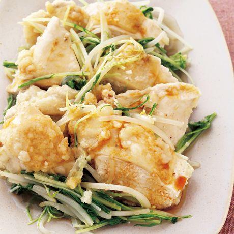 フライパン蒸しどり | 石原洋子さんの棒々鶏・蒸しどりの料理レシピ | プロの簡単料理レシピはレタスクラブネット