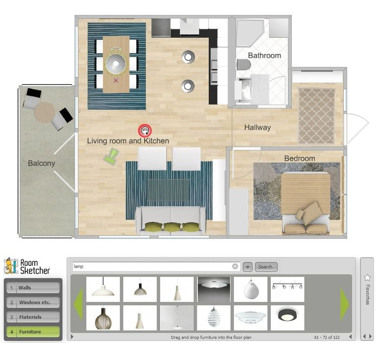 Review Of 3 Best Free Interior Design Softwares RoomSketcher Ikea Home Planner Room