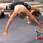 Tapout XT Plyo Pushups- TapouT XT Creator Mike Karpenko flying