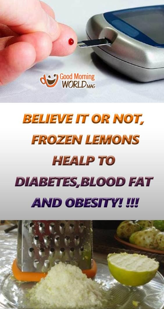 Believe It or Not, Use Frozen Lemons and Say Goodbye to Diabetes, Blood Fat, Obesity!