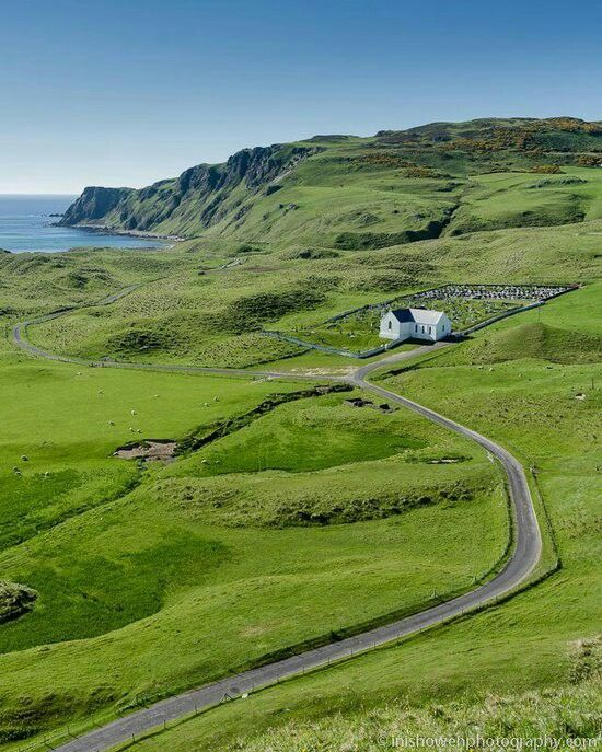 Lagg Chapel, Lag, County Donegal, Ireland.