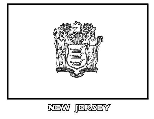 New Jersey State Coloring Pages Flag Coloring Pages Coloring Pages Nevada Flag