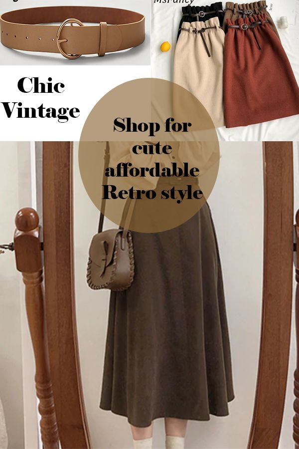 10 Amazing Online Shops For Vintage And A Retro Trends In 2020 Vintage Designer Clothing Vintage Outfits Vintage Inspired Fashion