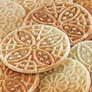PIZZELLE Italian Wedding Cookie Recipe image