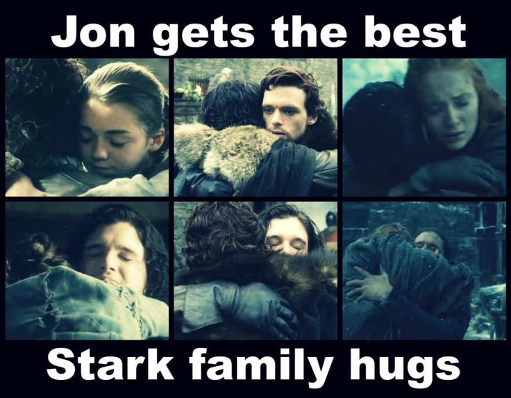 Game Of Thrones  Aww. Jon Snow... Super huggable and everything else.