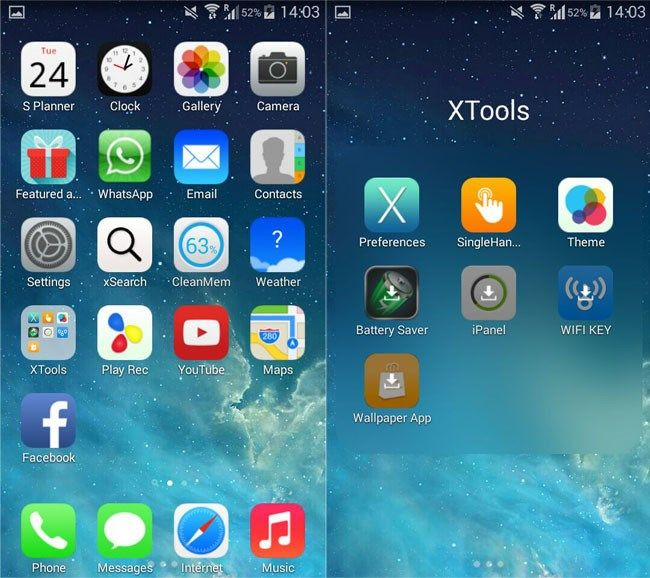 7 aplicaciones para que tu Android se parezca un iPhone