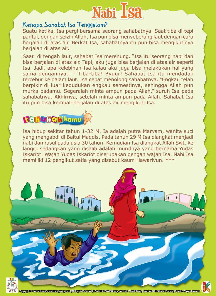 Nabi Isa Berjalan di Atas Air