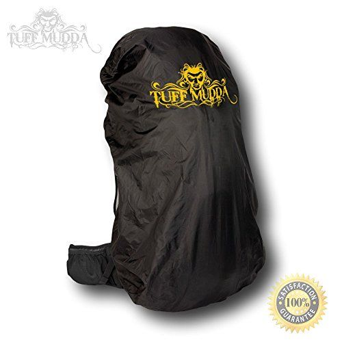 Tuff Mudda Backpack Rain Cover Black Large Fits 55L to 80L Backpacks Perfect Waterproof Backpack Cover >>> Check this awesome product by going to the link at the image.