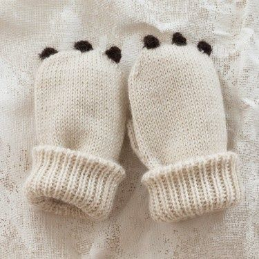Really cute mittens that are easy to make if you know how to knit!