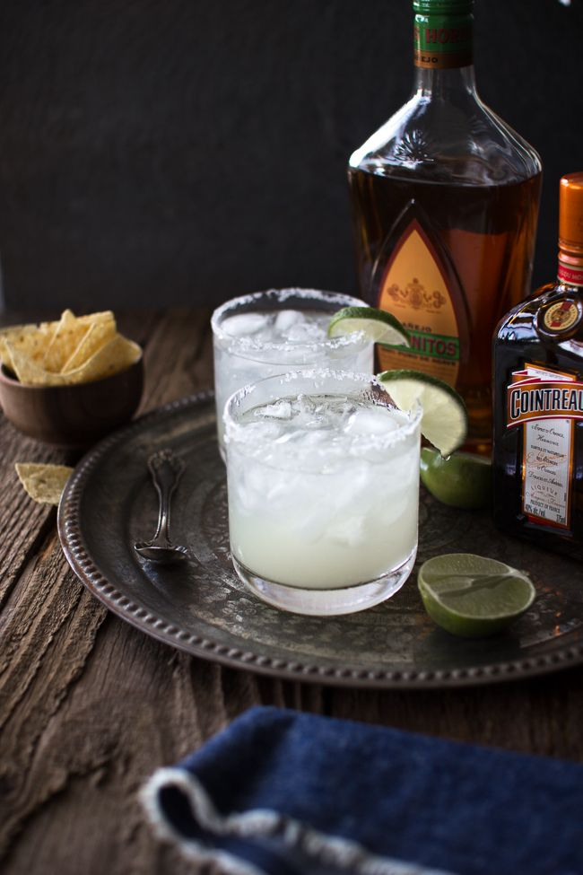 How to Make the Perfect Margarita on the Rocks | The Flourishing Foodie. (I will allow that this looks to be a good margarita, but it's not quite my recipe, so I can't say it is perfect. ITA about the reposado/anejo and cointreau)