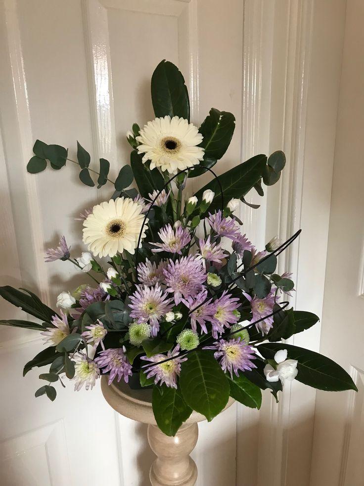 Gerbera and chrysanthemum