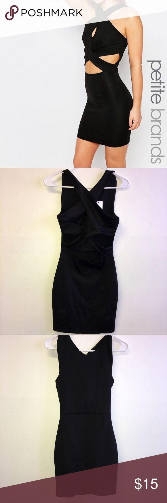 NEW petite bodycon dress Petite bodycon dress never worn before with tags still attached. Dresses Mini