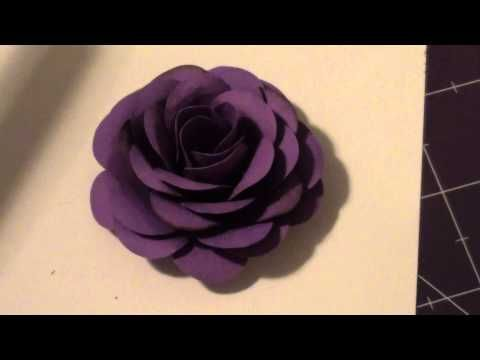 My first paper rose! Let me know what ya think?    Rose Tutorial - http://www.youtube.com/watch?v=YI0gMjSkS3E