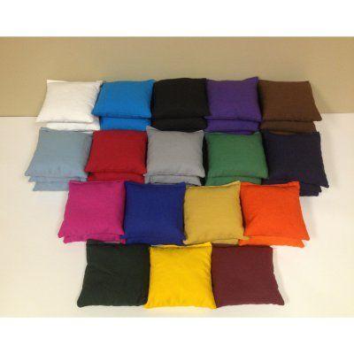 Tournament Cornhole Bags - Set of 8 Kelly Green Purple - 201 KELLY/PURP, AJJ021-267