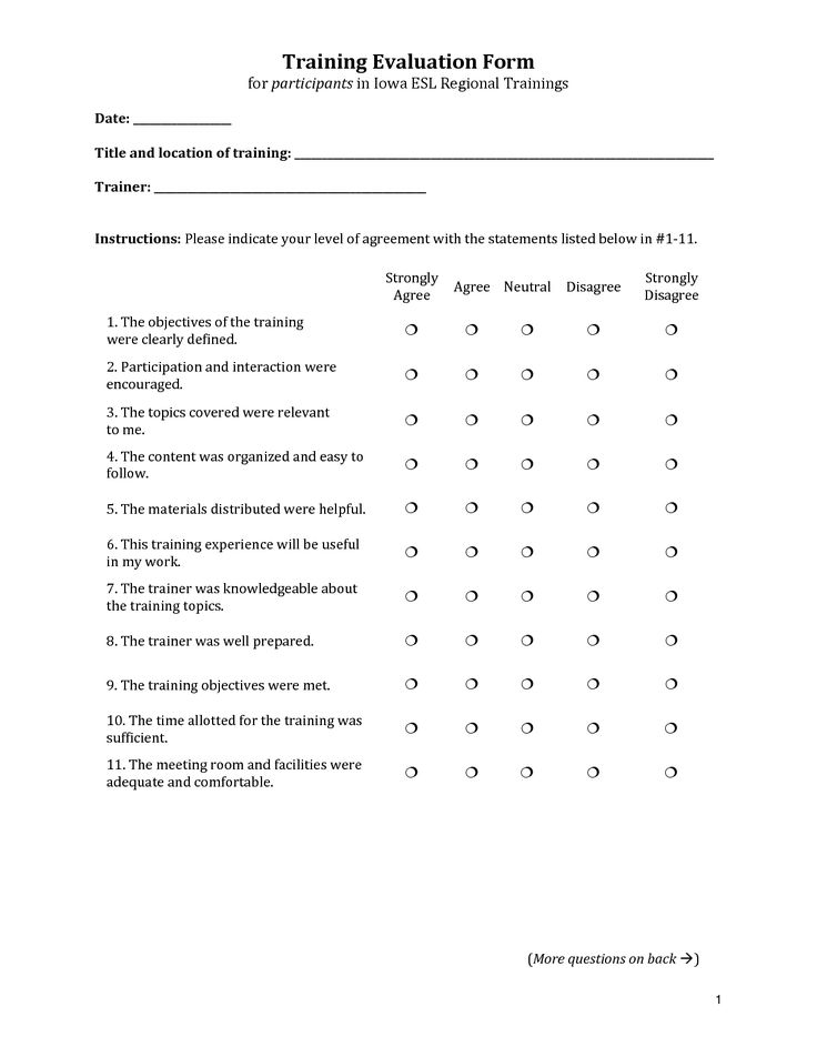 pastor evaluation form