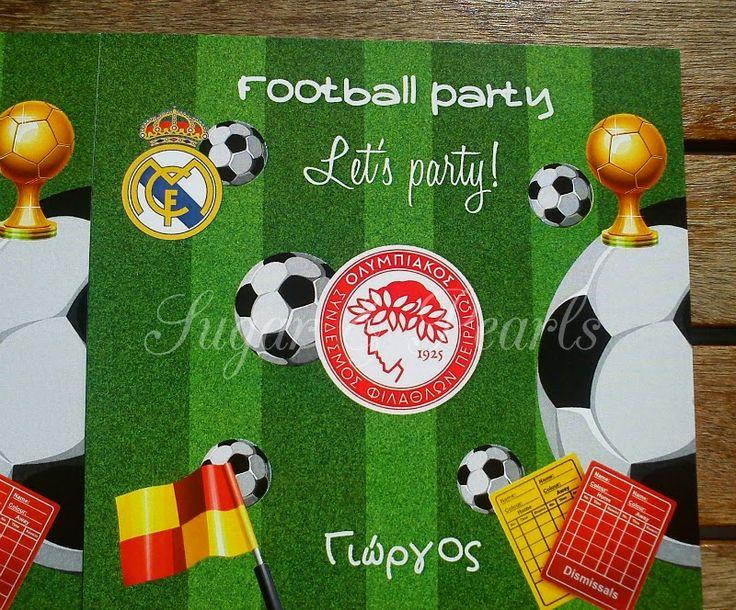 Πάρτι με θέμα το ποδόσφαιρο
