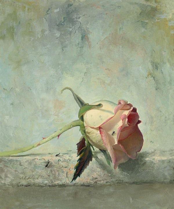 Автор картины Алексей Антонов (Alexei Antonov).Родился в России в 1957г.Живет и работает в Америке.