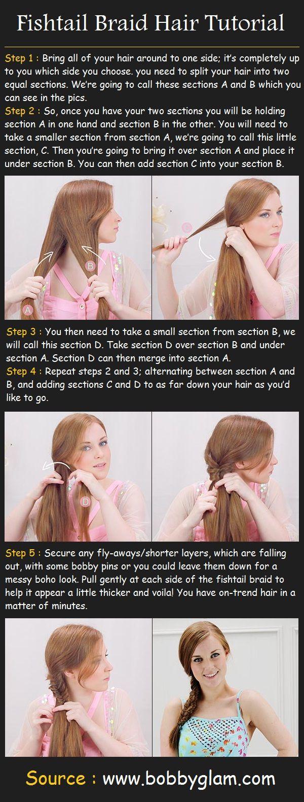 Fishtail Braid Hair Tutorial | Beauty Tutorials