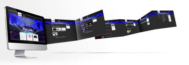Entwicklung einer umfangreichen Website für bMedia - einem Anbieter von Mietgeräten für die videotechnische Ausstattung.
