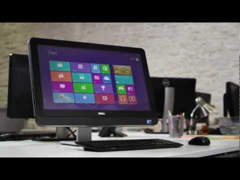 Dell OptiPlex 9010 All-In-One Computer with Windows 8 Touch Screen - YouTube