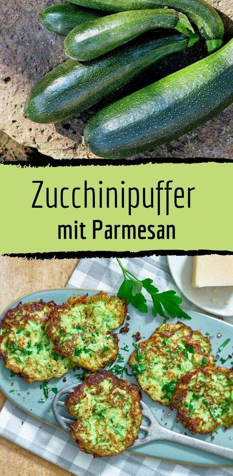Low Carb Recipe for Zucchini Buffer with Parmesan