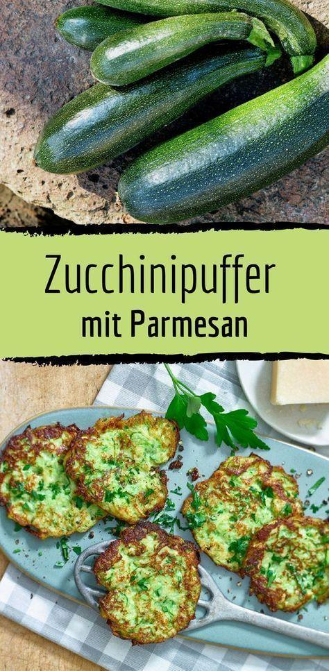 Receta baja en carbohidratos para tampón de calabacín con parmesano   – Lecker & gesunde Rezepte für Familien