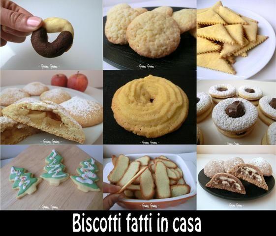 Biscotti fatti in casa   Raccolta ricette