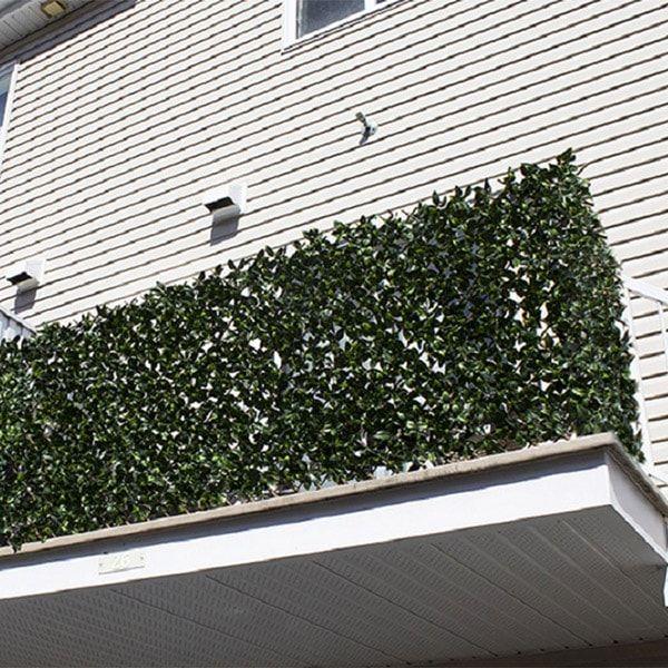 les 25 meilleures id es de la cat gorie intimit de balcon sur pinterest vie priv e au jardin. Black Bedroom Furniture Sets. Home Design Ideas