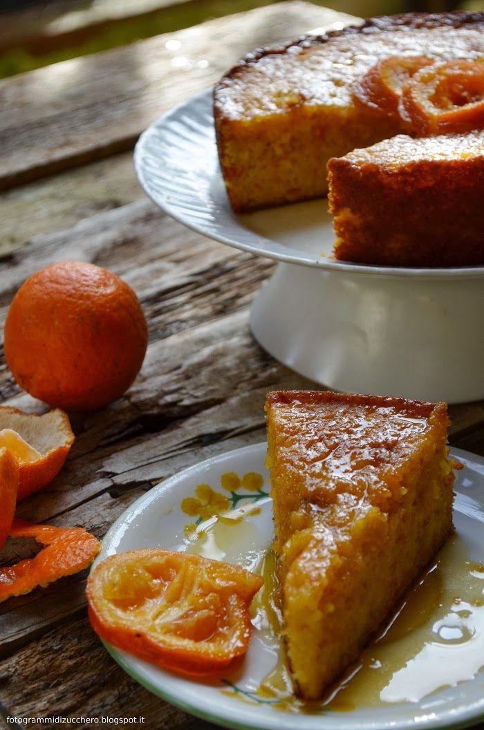 Torta Clementina, torta di clementine e mandorle Clementine cake from #Nigella Lawson