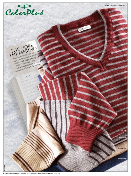 Merino blend sweaters by #ColorPlus