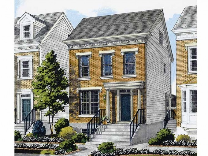 14 Best Infill House Plans Images On Pinterest Small