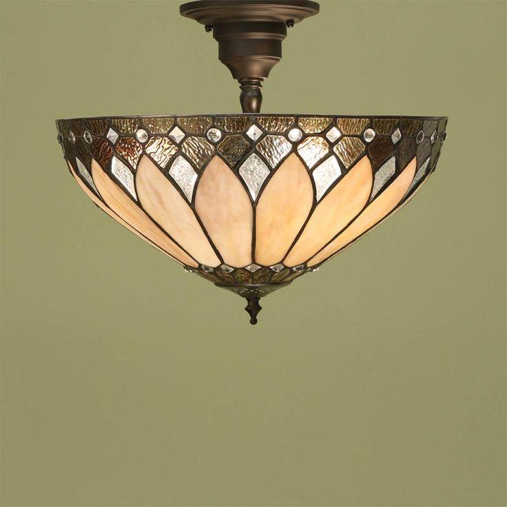 Lampada Tiffany a Sospensione / Lampada Tiffany da Soffitto