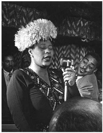 Ella Fitzgerald and Dizzy Gillespie