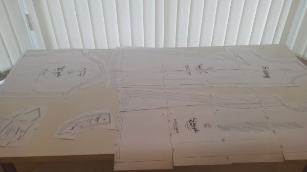assembling a pdf sewing pattern