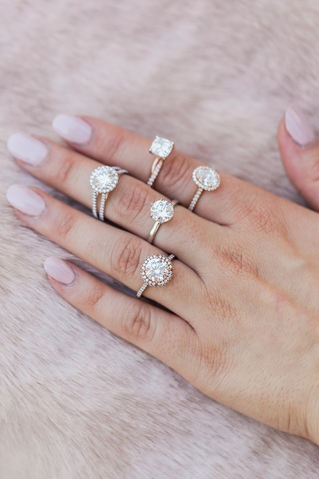 Wedding Bells: The Most Beautiful Engagement Rings for Every Budget | Lauren Conrad | Bloglovin'