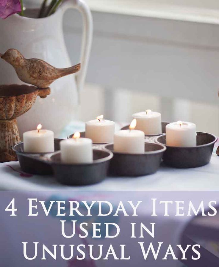 4 Unusual Ways To Use Everyday Objects