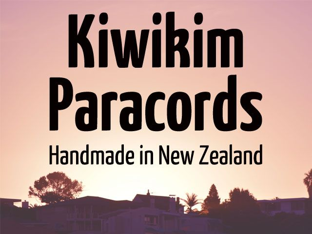 Kiwikim Paracords