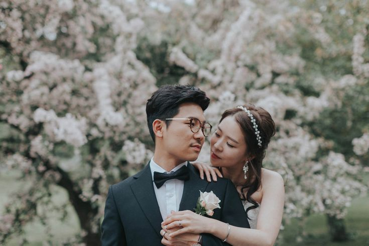 our very stylish couple from Japan who had their dream destination wedding in Prague. Photographed at one of the secret gardens by Kurt Vinion