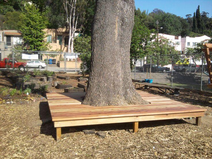 best 25 bench around trees ideas on pinterest patio. Black Bedroom Furniture Sets. Home Design Ideas