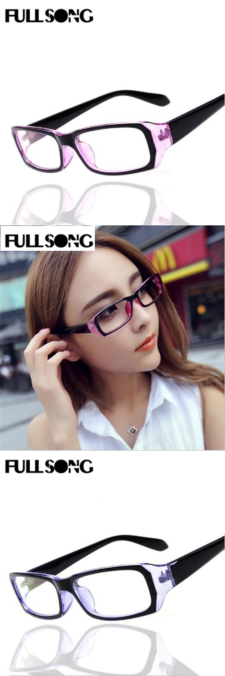FULLSONG Stylish Practical Glasses for Men Women Anti-radiation Reading Glasses Anti-fatigue Computers Glasses Goggles D63054