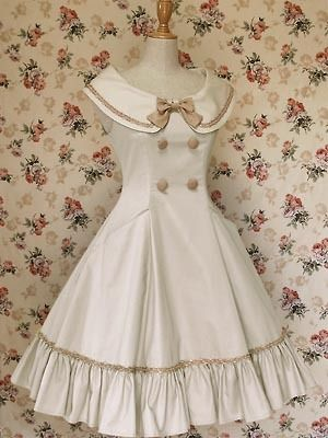 Mary Magdalene classic lolita dress I would make this a sailor dress. . .
