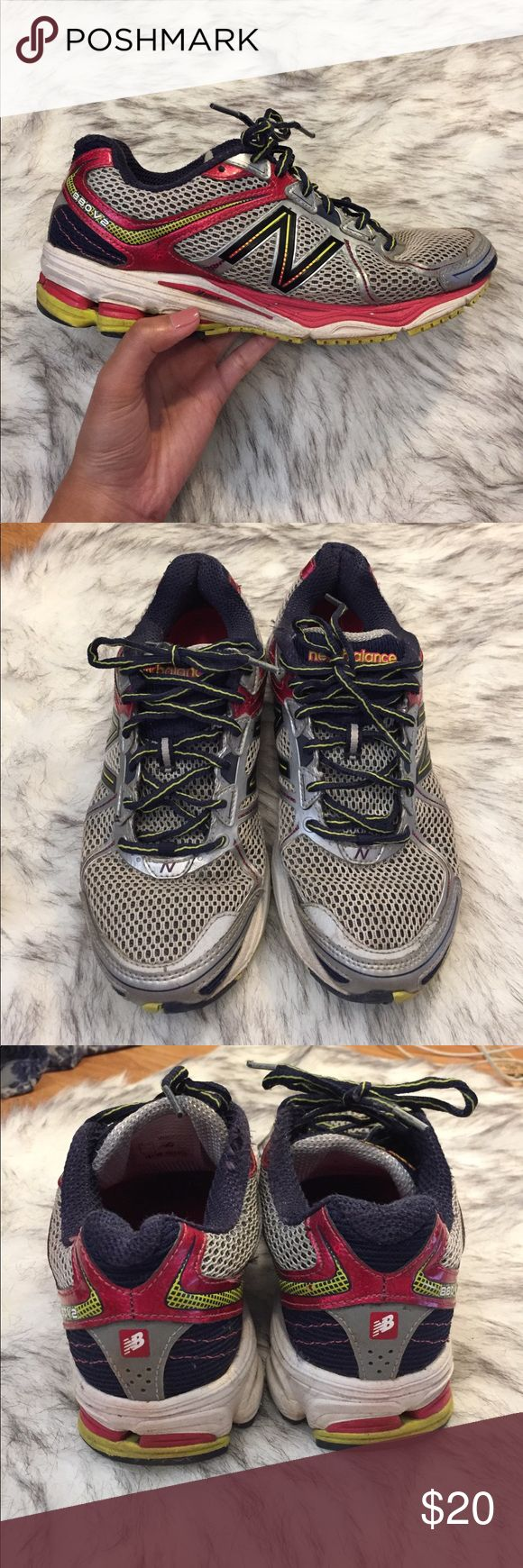 New Balance Trail Sneakers Worn this for a season of cross country, still in fairly good condition, there's a rip on the fabric as shown in the photo, barely noticeable. Make an offer! New Balance Shoes Sneakers