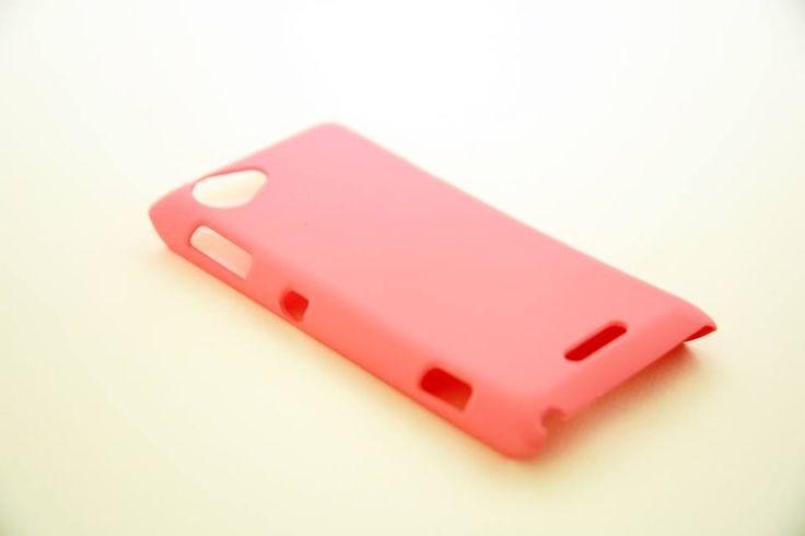 OEM Πλαστική Θήκη Rubber Plastic Case Ροζ (Sony Xperia L) - myThiki.gr - Θήκες Κινητών-Αξεσουάρ για Smartphones και Tablets - Χρώμα ροζ