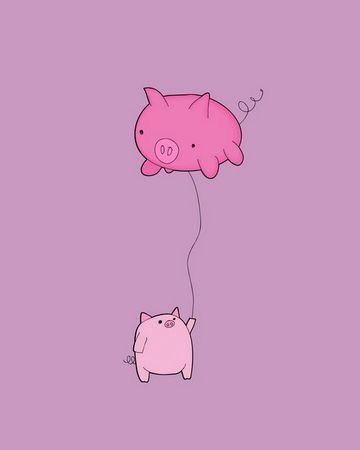 Flying Pigs Makes Me Happy
