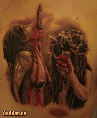 Gjord av Peppe på Left Hand Tatto. Cannibal Holocaust