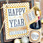 Die 36. AVENUE | 25 DIY Sparkly Ideas ~ New Years | Die 36. AVENUE   – New Year New You