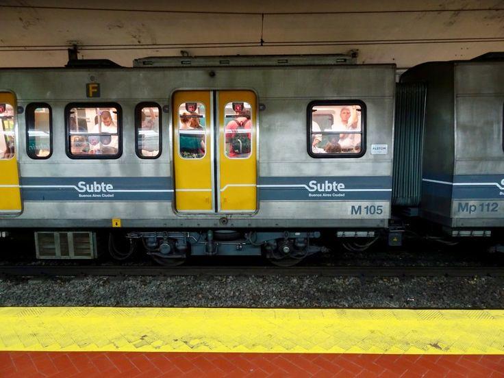 Buenos Aires' metro, or Subte