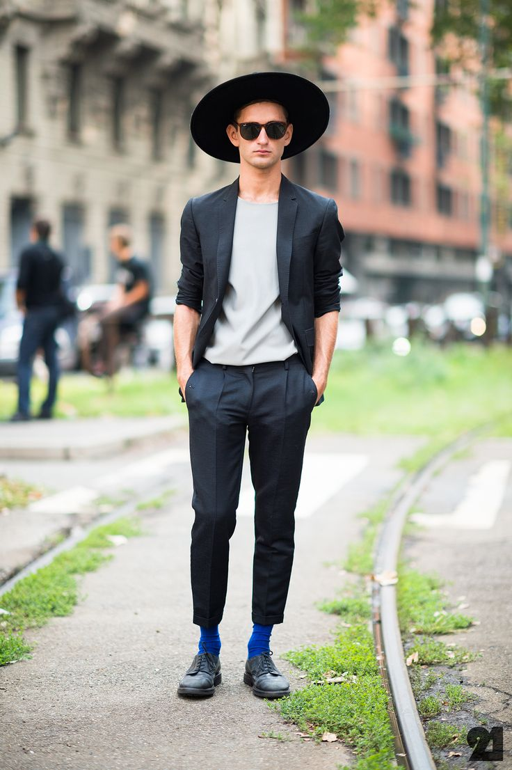 WHO Alessandro Arensberg   WHAT Jil Sander Lanvin Mauro Grifoni Ray-Ban   WHERE Italy Milan Centro   WHEN Spring/Summer 2013