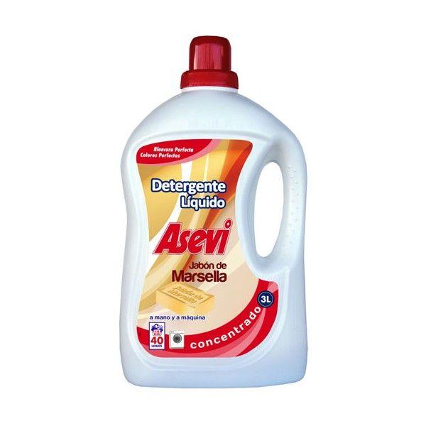 ASEVI Detergente Marsella 3l #precio #barato #detergente #lavadora #ropa #hogares  El detergente de la gente #AsíEstáElPatio